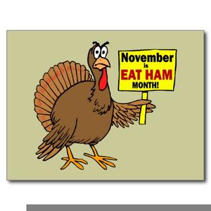graphic stock Turkey eat ham free. Turkeys clipart eating