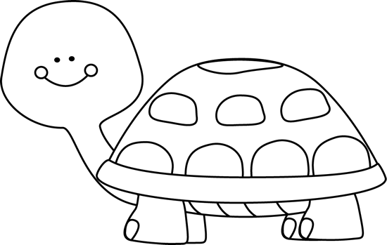 picture transparent Turtle clip art image. Tortoise clipart black and white