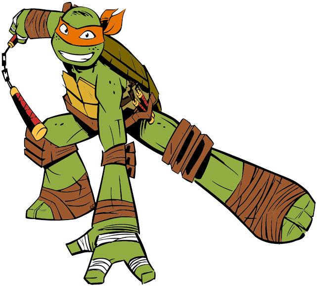 graphic library stock Teenage Mutant Ninja Turtles Clip Art