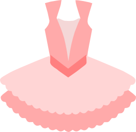 clip art library download Tutu clipart. Pink dress hot free