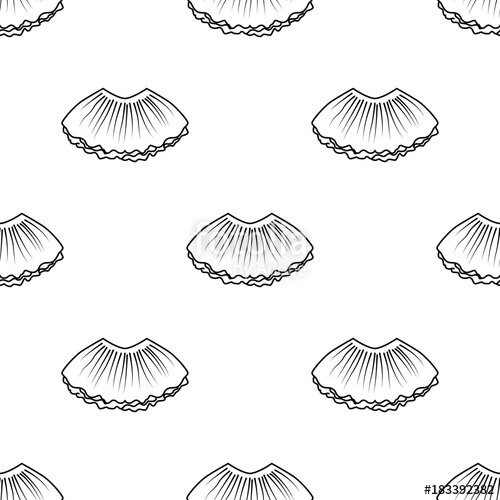 picture royalty free Tutu vector. Ballet seamless pattern in.