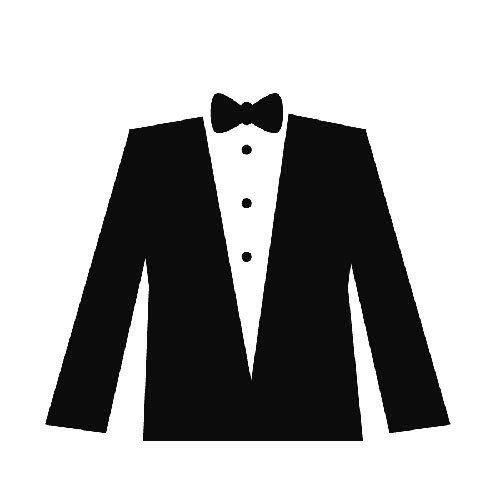 freeuse stock Free white cliparts download. Tuxedo clipart