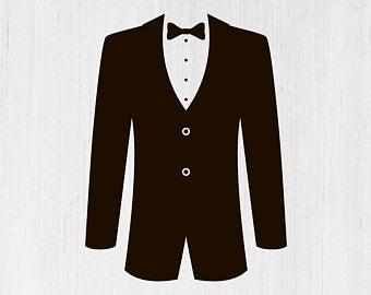 royalty free library Tuxedo clipart. Clip art etsy