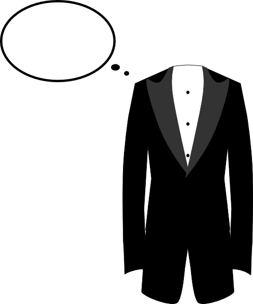 png black and white Clip art at clker. Vector clothing tuxedo dress