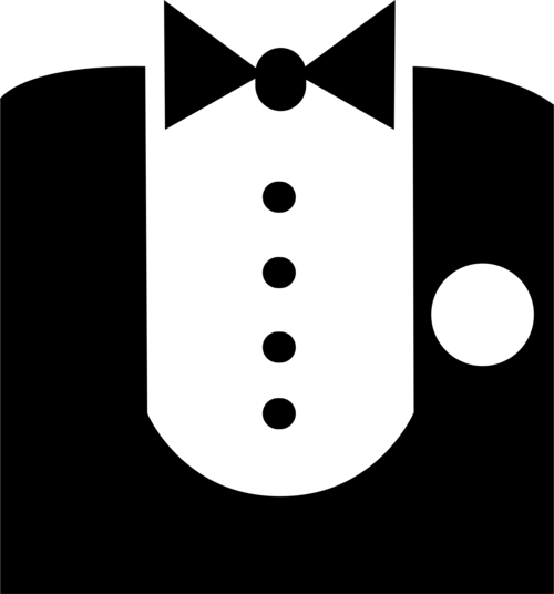 picture transparent stock Tuxedo clipart. Sponsor kdm