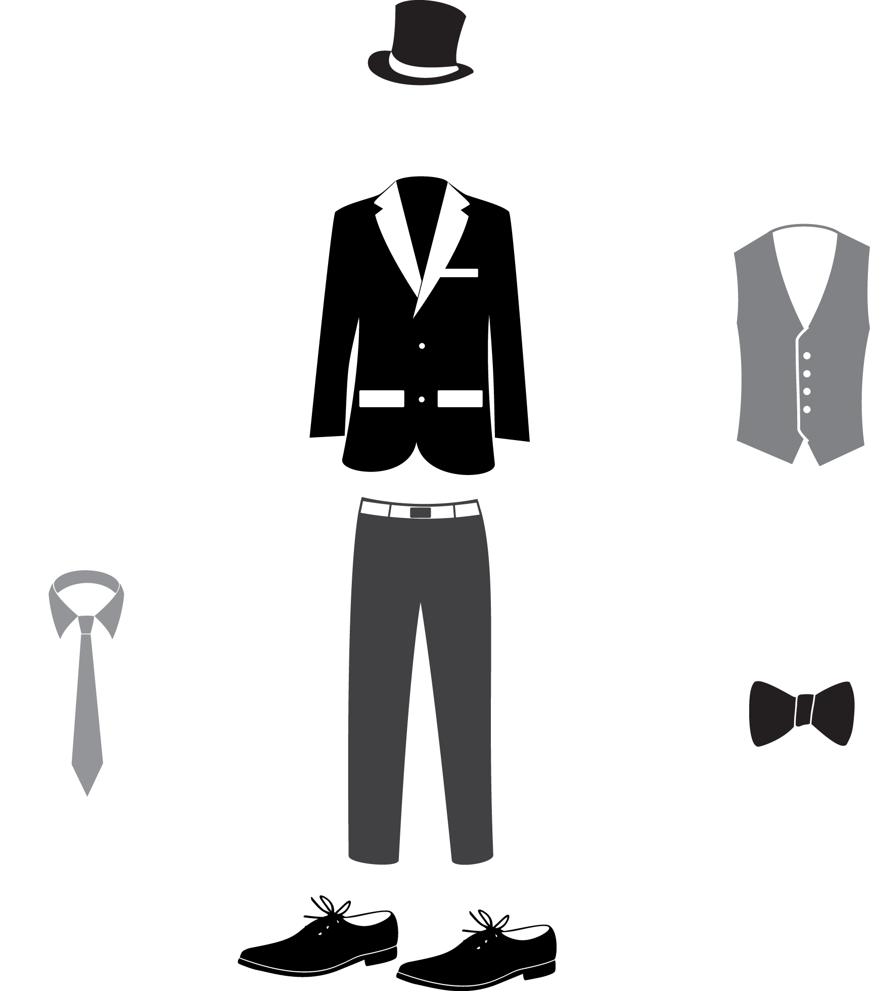 image free download Suit formal wear clothing. Tuxedo clipart