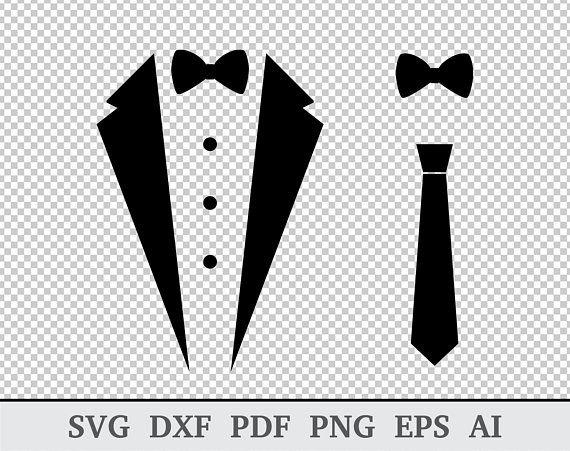 clip art free Vector costume wedding tuxedo. Svg tux shirt bow