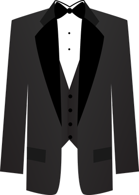 svg black and white download Vector costume wedding tuxedo. Minus cricut weddings things