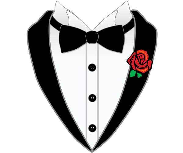 clipart transparent tuxedo jacket clipart #65116281