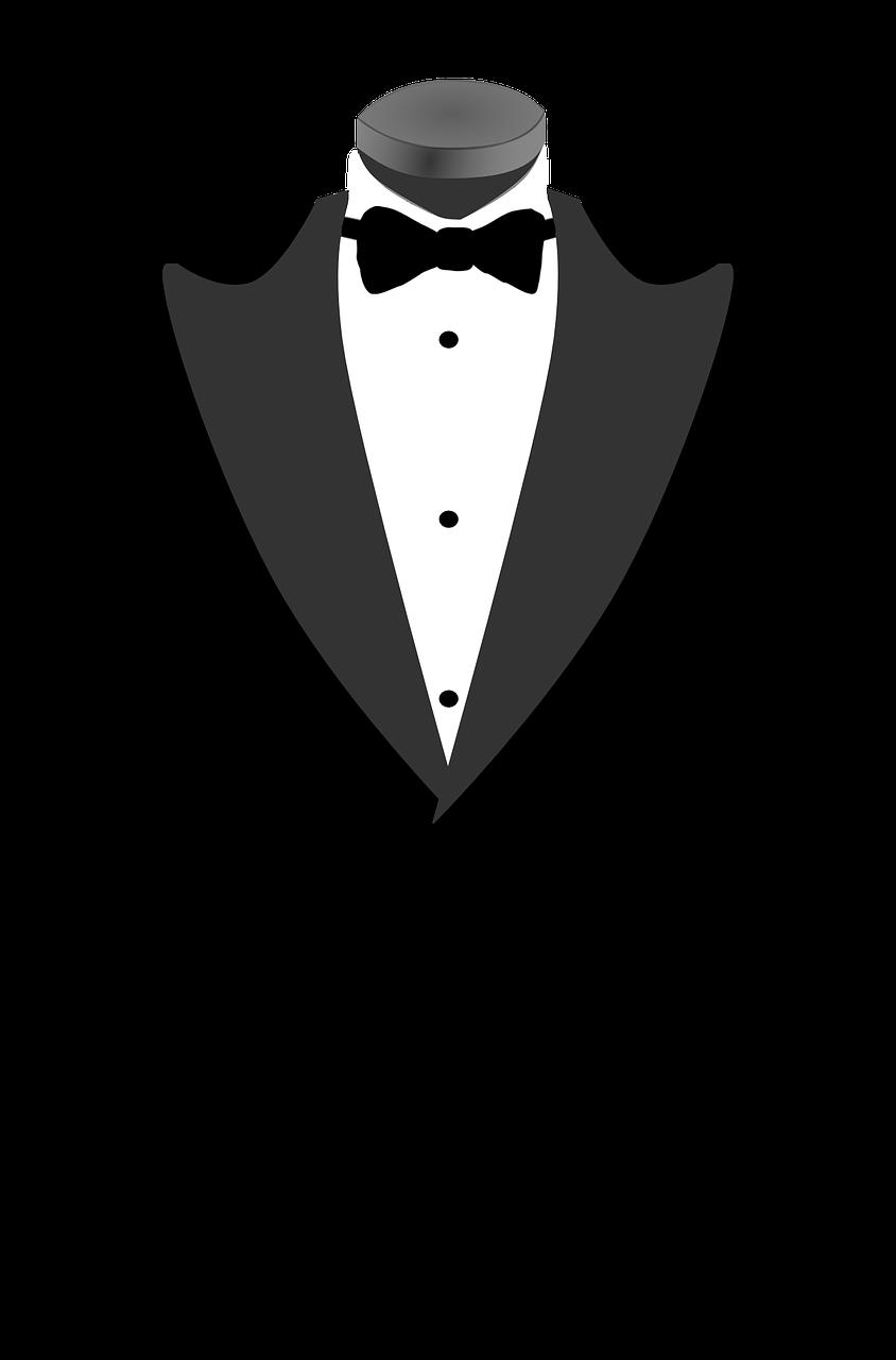svg download Pixabay bowtie . Vector costume tuxedo dress