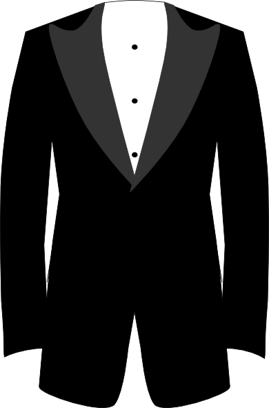 vector royalty free download Tuxedo Clip Art at Clker