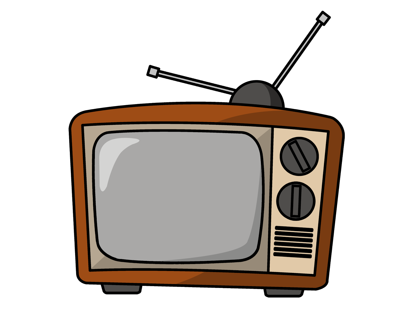 banner royalty free library Tv clipart. Television show free on.