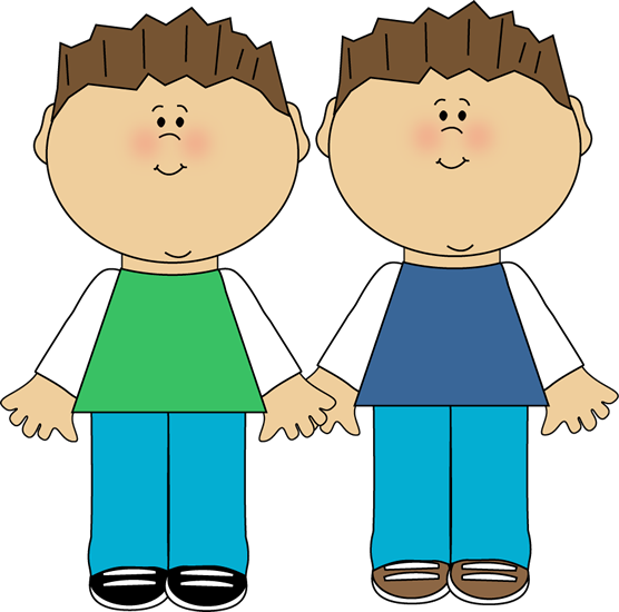 clip transparent stock Identical Twins Clipart