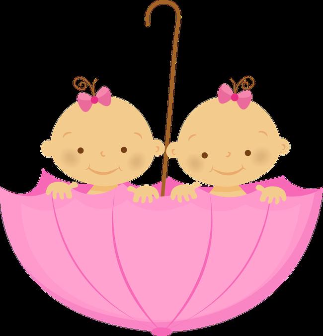 clip freeuse library Gr vida e beb. Twins clipart