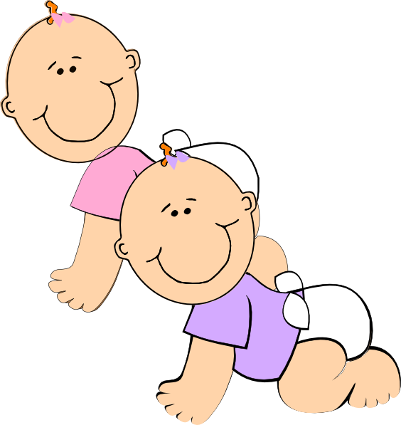 jpg free download Twin girls at clker. Twins clipart clip art
