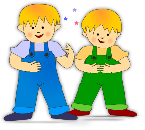 png free library Vector of twin panda. Twins clipart clip art