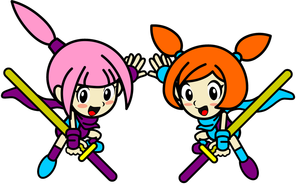 vector Two Female Ninja Twins by PrinceDarwin on DeviantArt