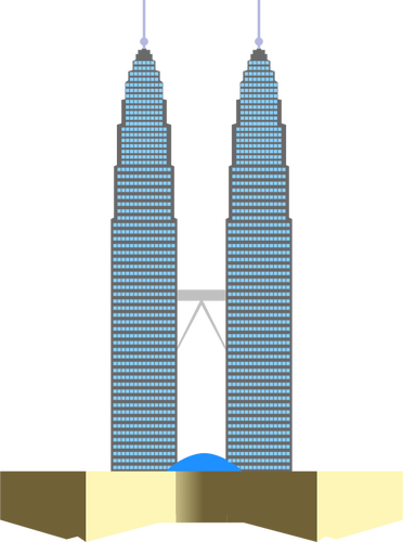 clipart library stock Twin Towers Clipart at GetDrawings