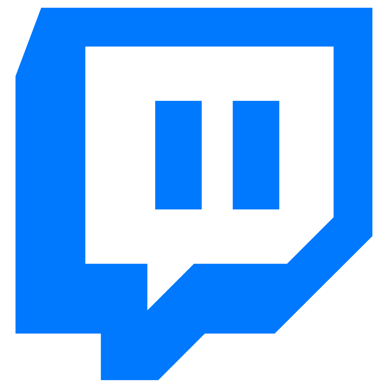 clip stock Filled icon free download. Twitch vector.