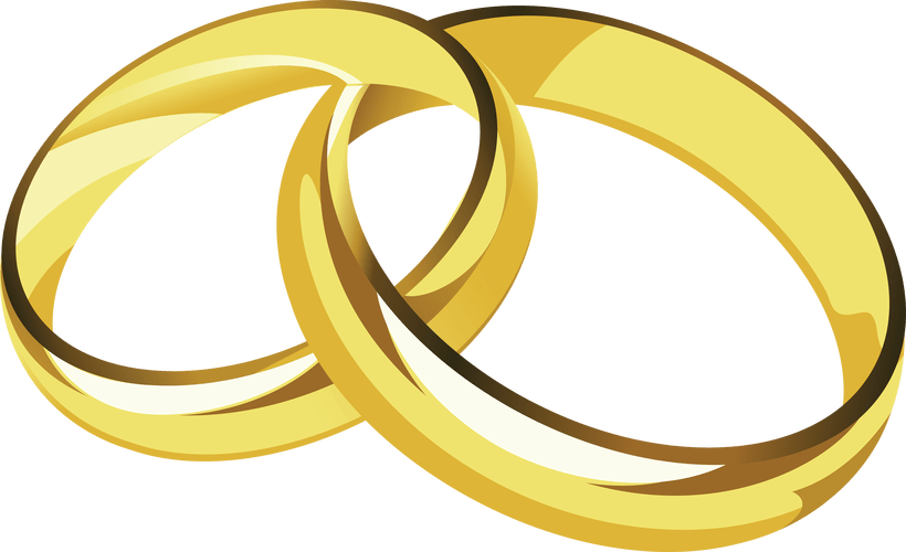 banner transparent download wedding rings clipart