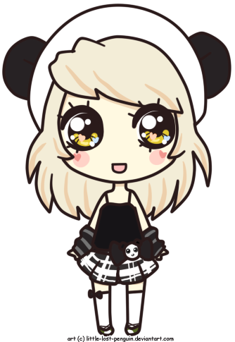 clip download Teddy by lost penguin. Types drawing kawaii little girl
