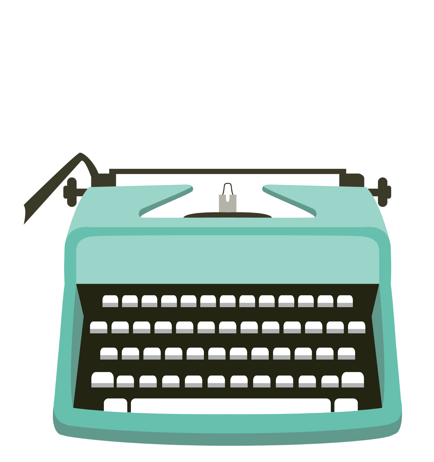 clip transparent download Typewriter clipart. Cute free on dumielauxepices