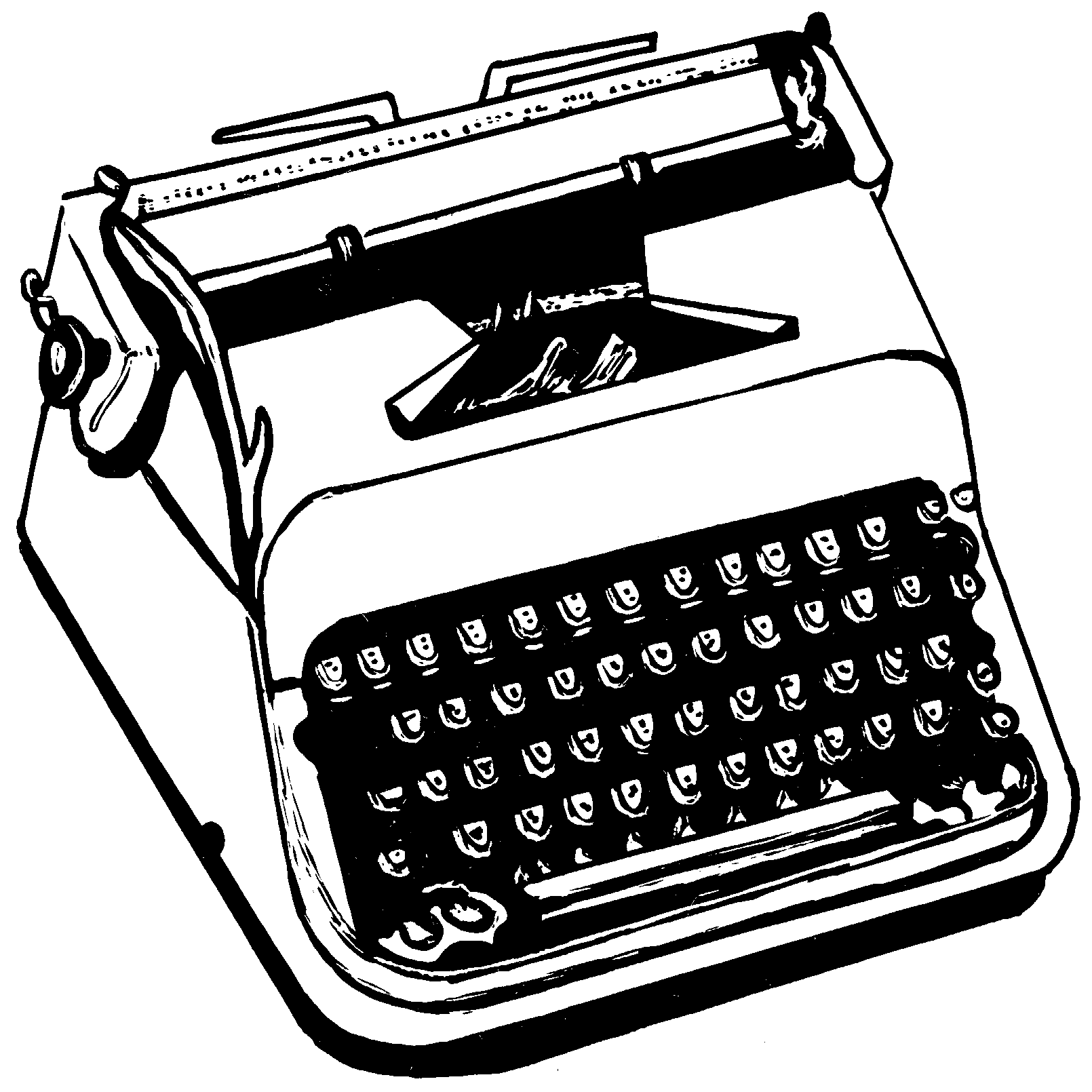 banner royalty free Typewriter vector simple. Png hd mart