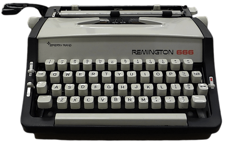 clip royalty free Typewriter clipart black and white. Remington png photos