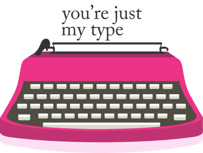 clip royalty free stock Typewriter vector pink. Clipart cute pencil and