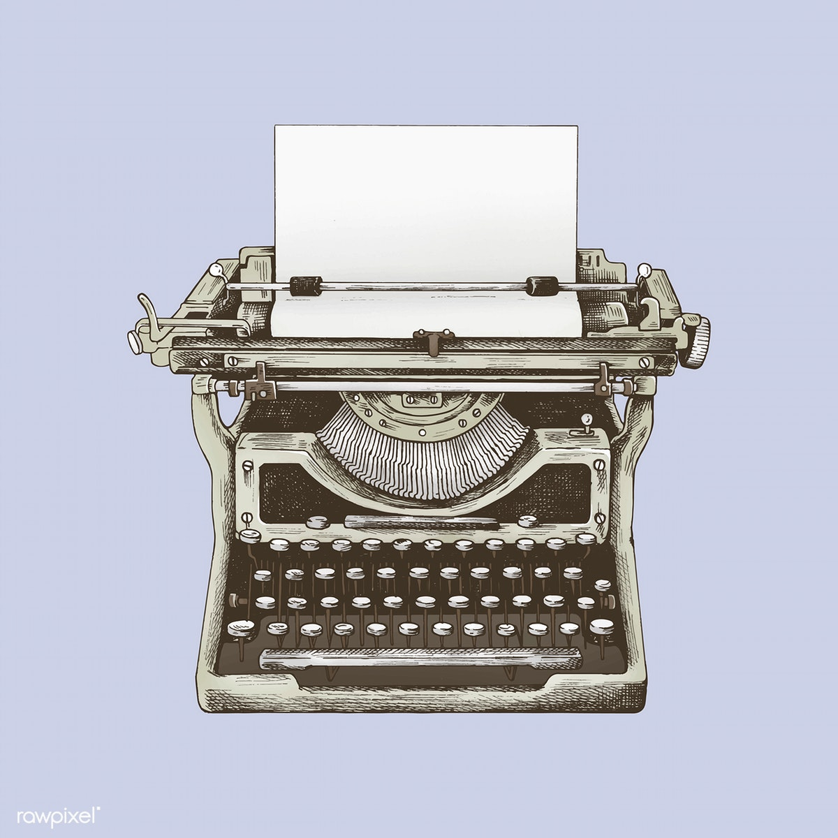 clipart library download Typewriter vector classic. Download premium illustration of