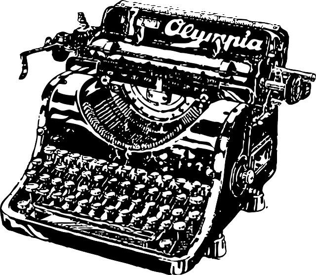 picture royalty free library Typewriter vector doodle. Free image on pixabay