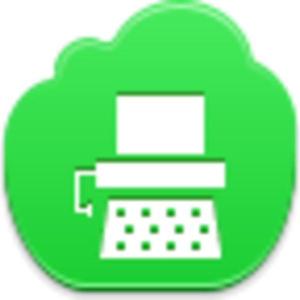 graphic Icon free images at. Typewriter vector public domain