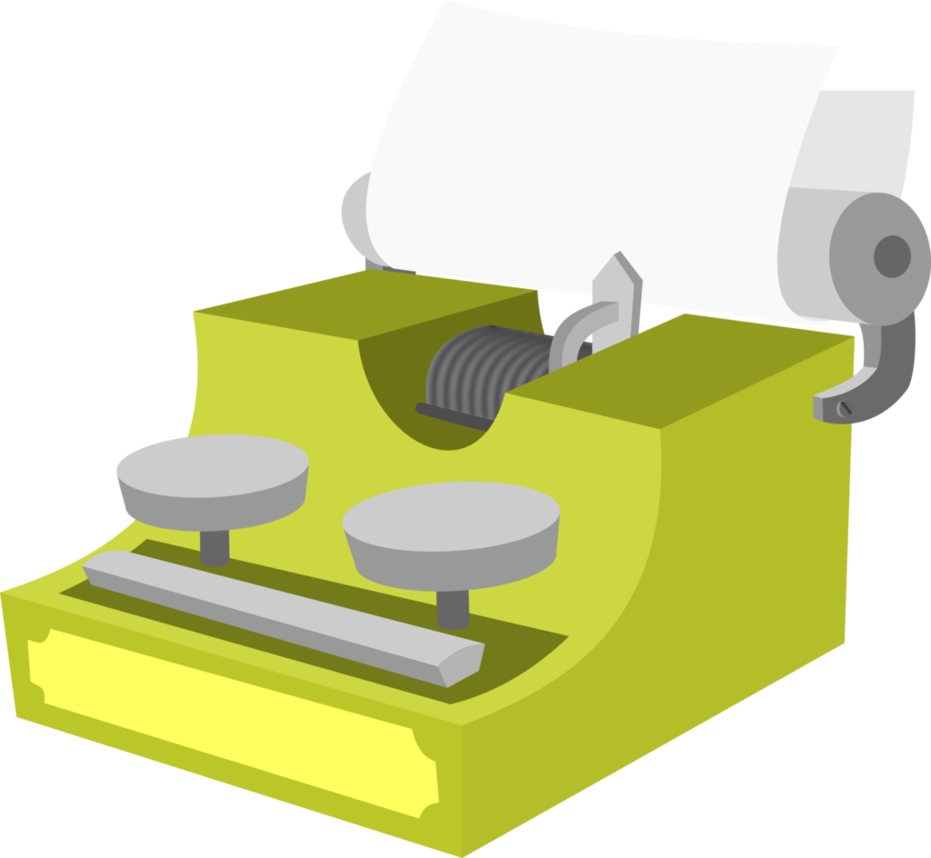 graphic transparent Typewriter vector simple. Binary by dervonnebenaan on