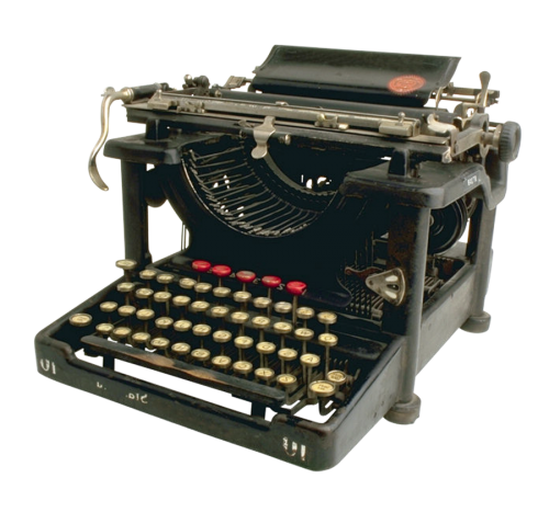 clip art stock Typewriter vector transparent.  png for free