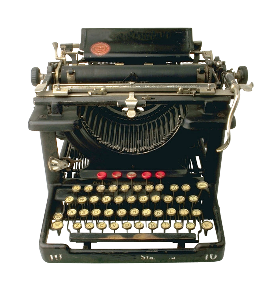 png library library Typewriter vector transparent. Office png images pngpix
