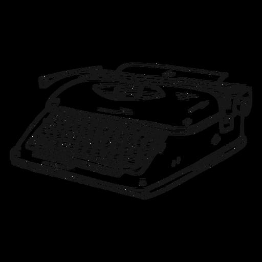 svg freeuse download Button stroke transparent png. Typewriter vector typing