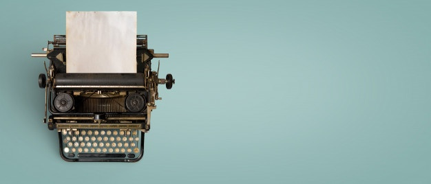 jpg royalty free download Typewriter vector vintage style. Vectors photos and psd