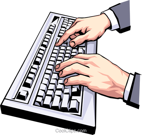 picture transparent Clip art free cliparts. Typing clipart