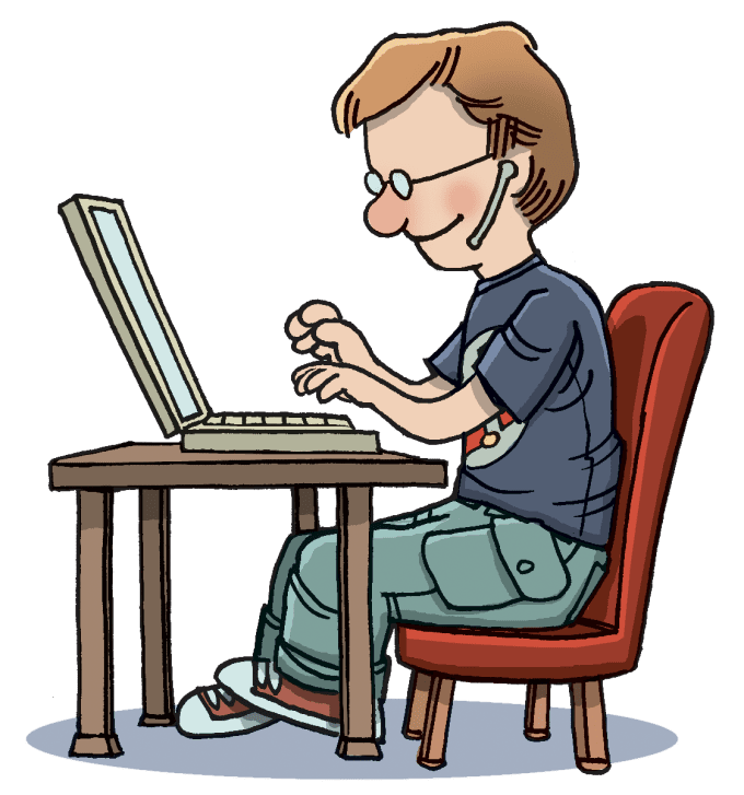 graphic Do any job in. Typing clipart
