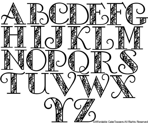 library Letters start for the. Typography drawing easy