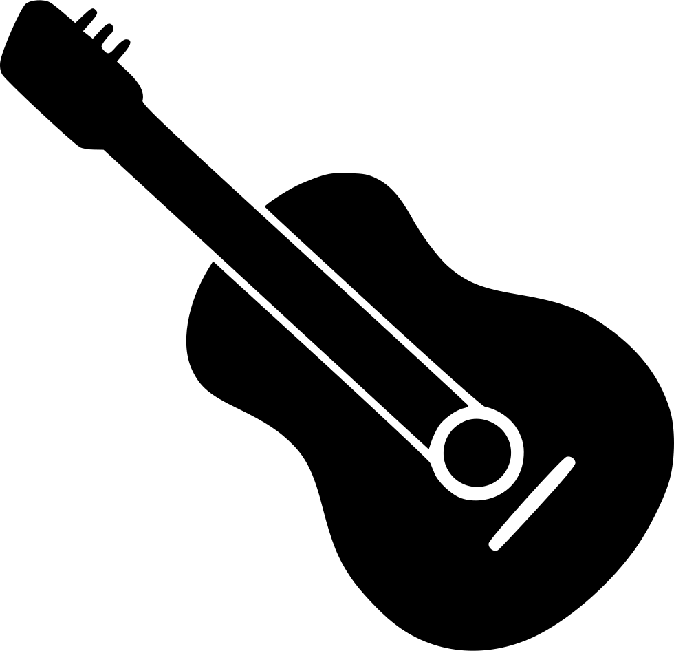 vector royalty free download Typography drawing guitar. Svg png icon free