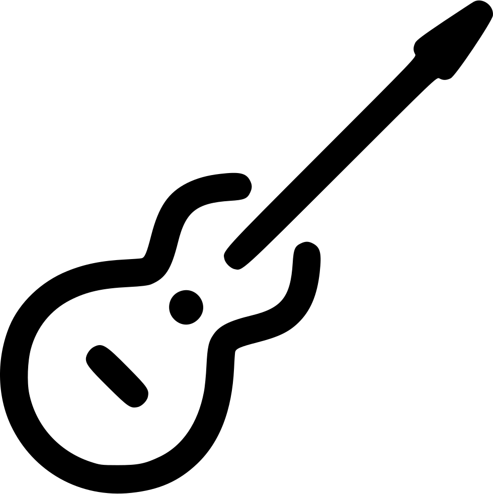 jpg Typography drawing guitar. Svg png icon free