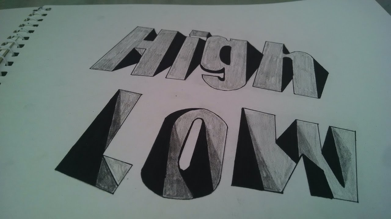 banner transparent download Typography drawing illusion. How to draw crazy