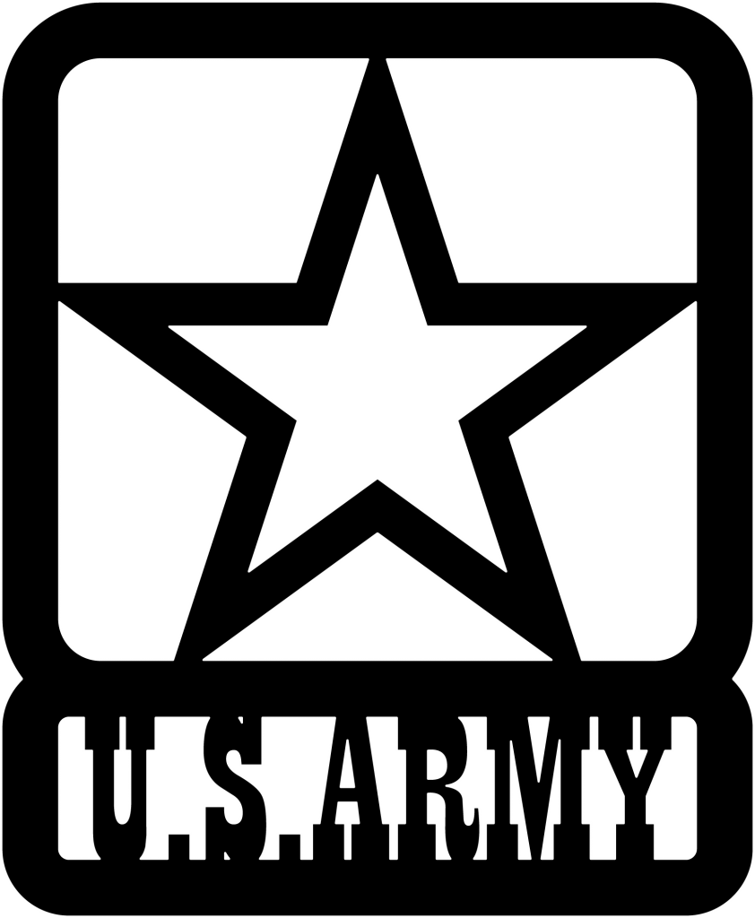image freeuse library U s army clipart. Us star dxf file