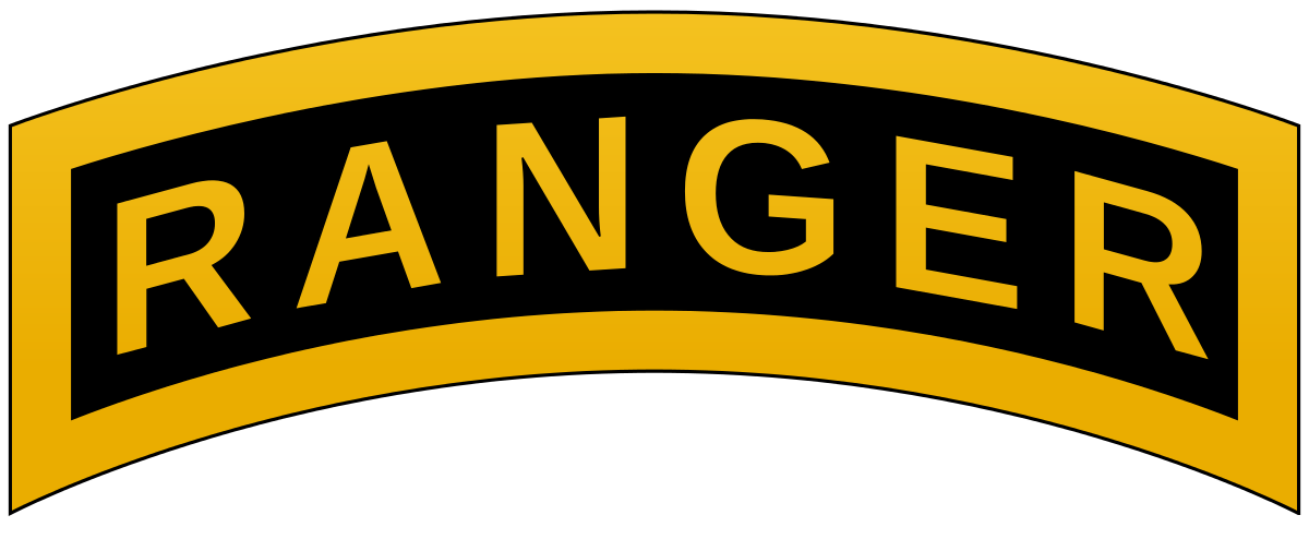 svg royalty free Ranger tab wikipedia . U s army clipart