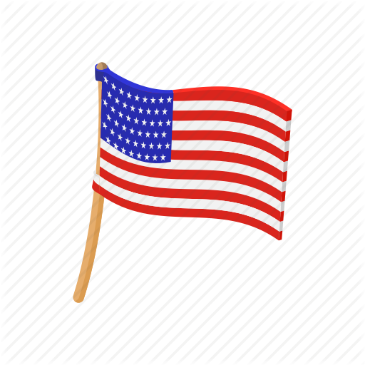 image freeuse library Usa transparent cartoon. American flag independence july