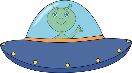 vector transparent Alien Ufo Clipart