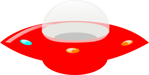 clip art free stock Ufo clipart family. Red clip art at