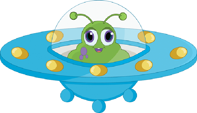 vector library library transparent ufo clip art #106905005