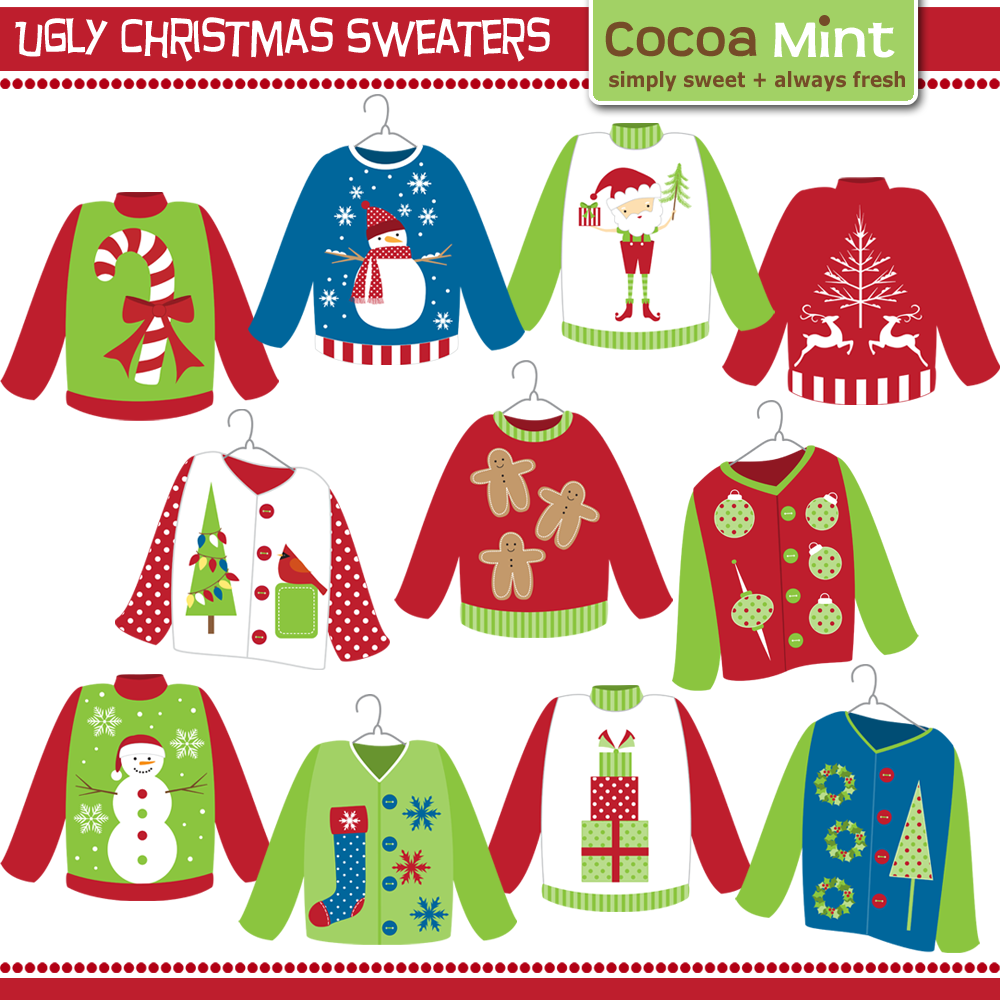 vector Pin on redneck party. Free ugly sweater clipart